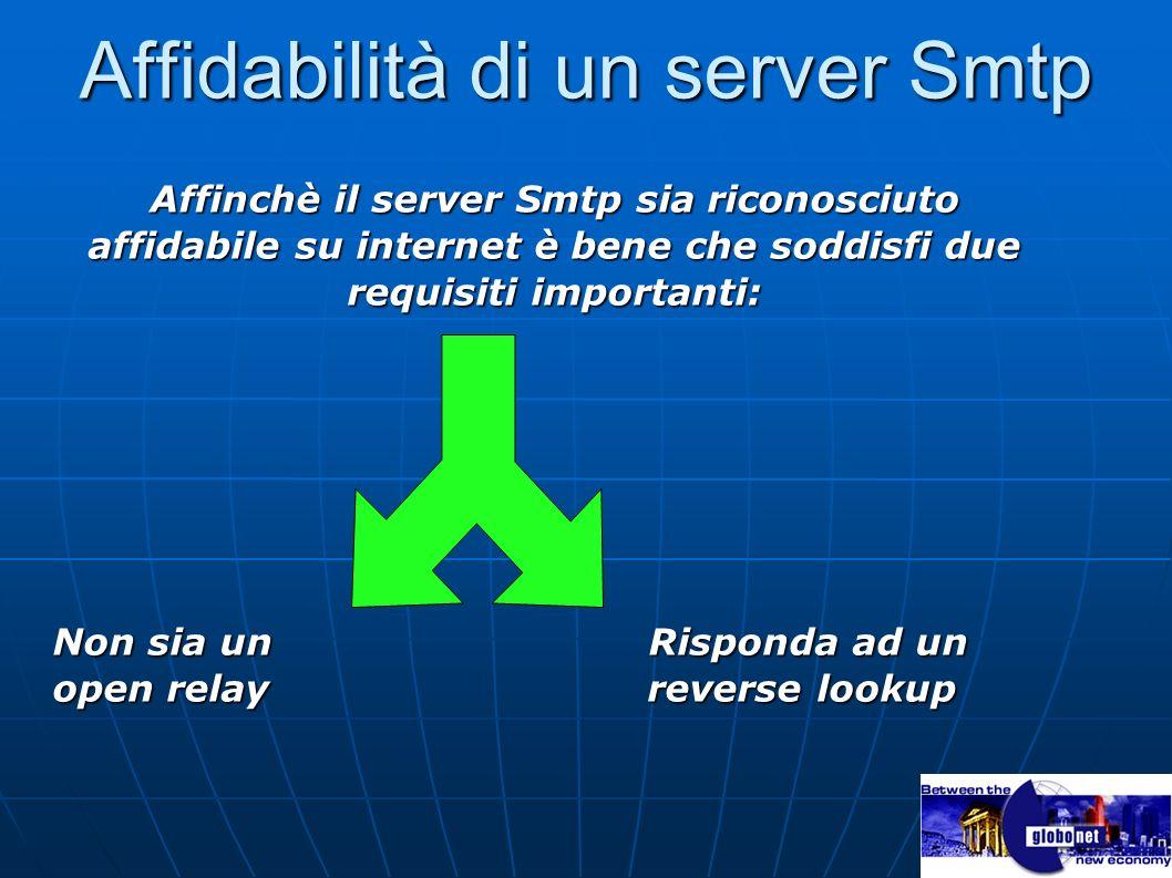 Affidabilità di un server Smtp