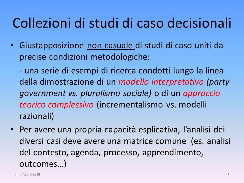 Collezioni di studi di caso decisionali