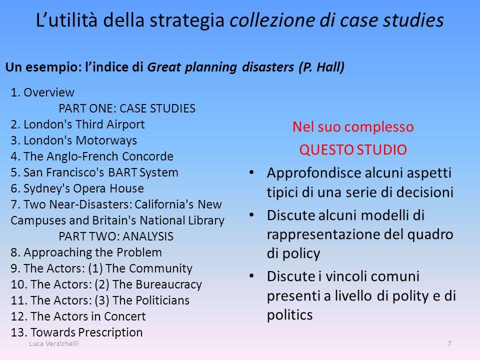 L'utilità della strategia collezione di case studies