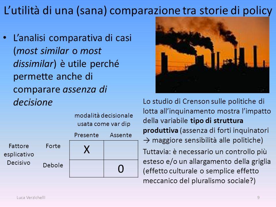 L'utilità di una (sana) comparazione tra storie di policy