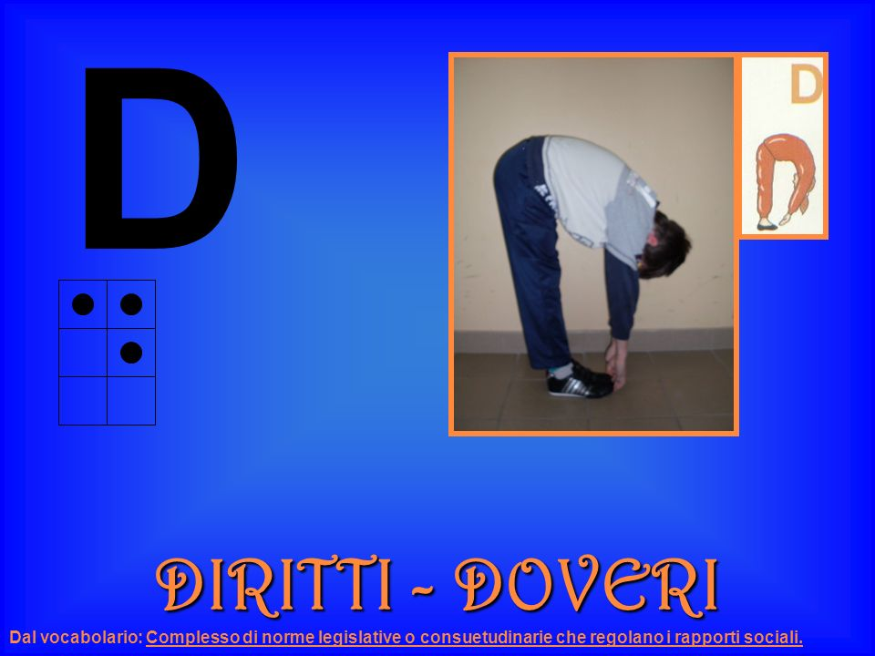 D DIRITTI - DOVERI.