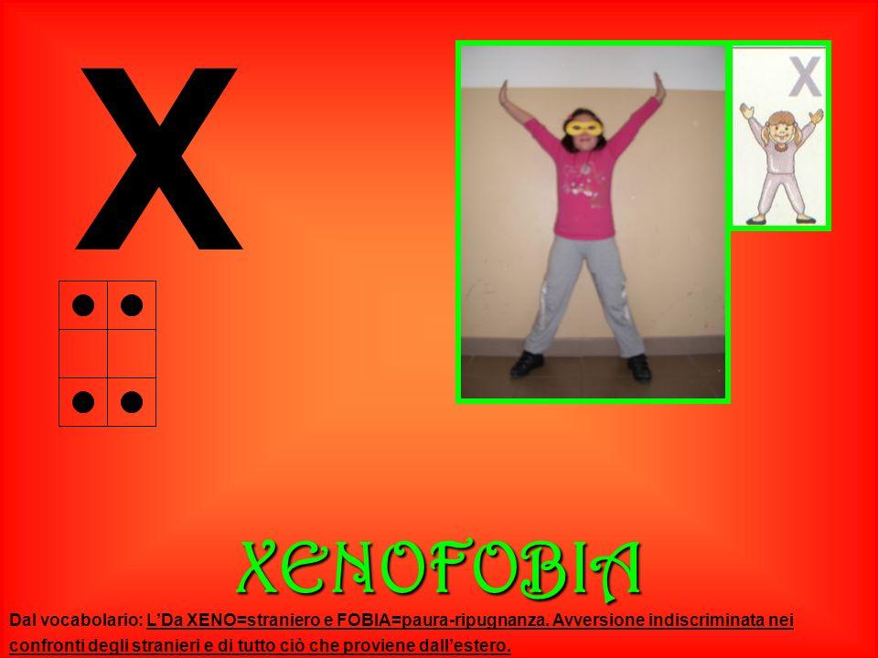 X XENOFOBIA.