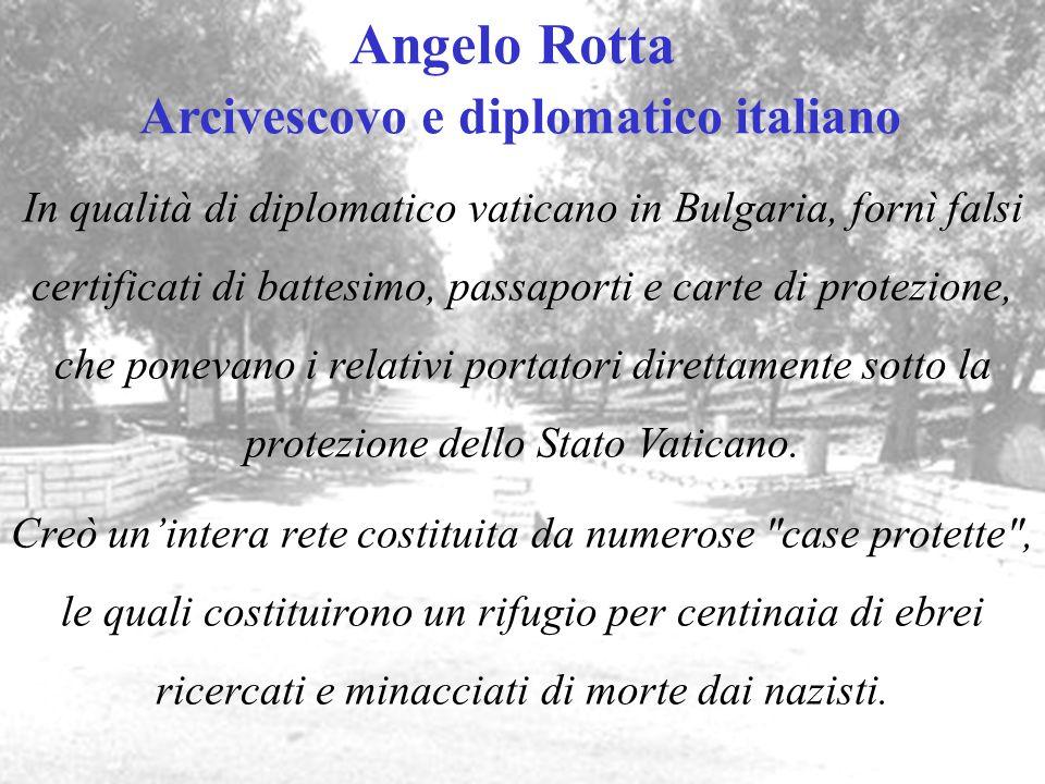 Angelo Rotta Arcivescovo e diplomatico italiano