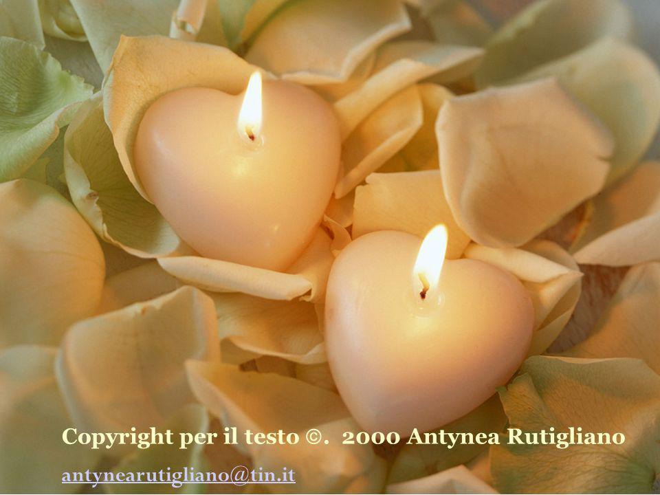 Copyright per il testo . 2000 Antynea Rutigliano