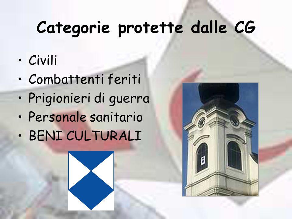 Categorie protette dalle CG
