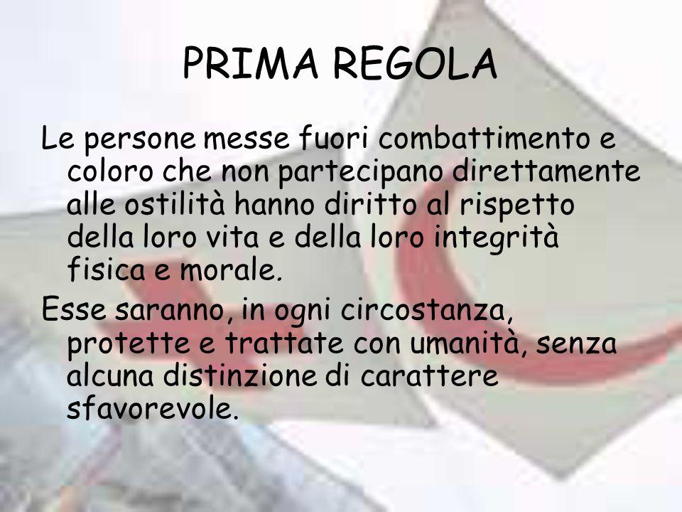 PRIMA REGOLA