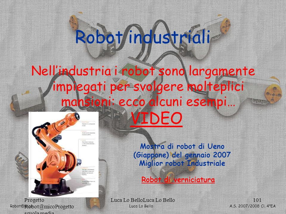 Robot industriali VIDEO