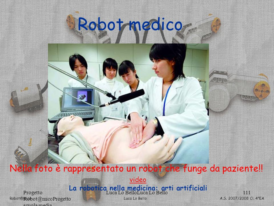 La robotica nella medicina: arti artificiali