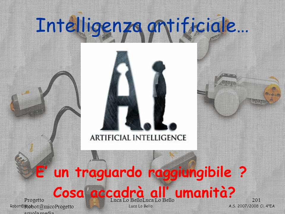 Intelligenza artificiale…