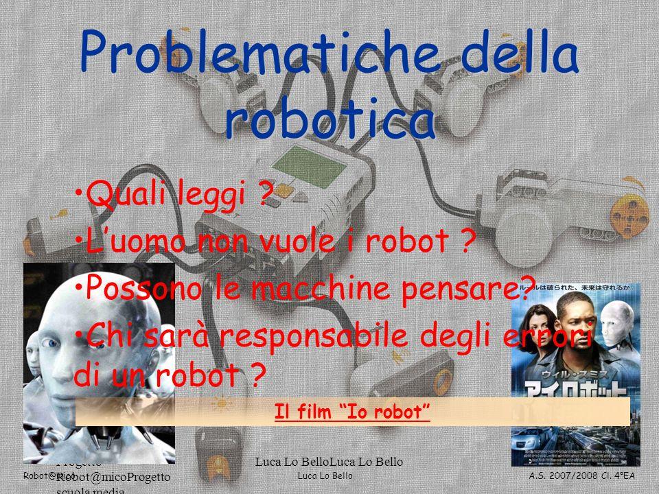 Problematiche della robotica