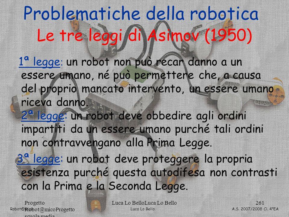 Le tre leggi di Asimov (1950)