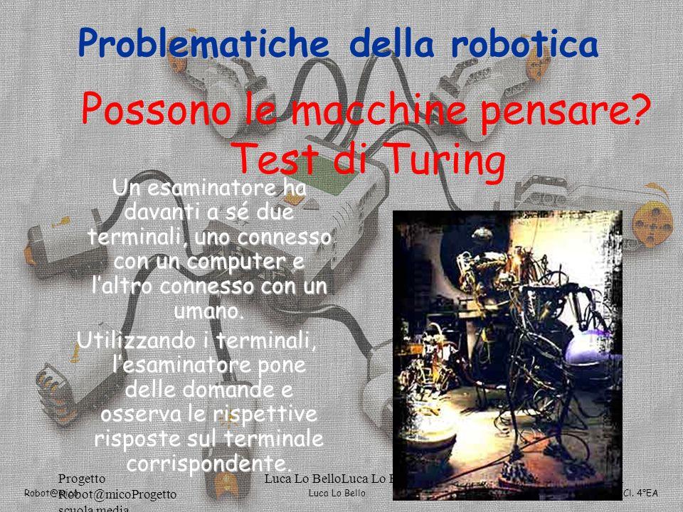 Possono le macchine pensare Test di Turing