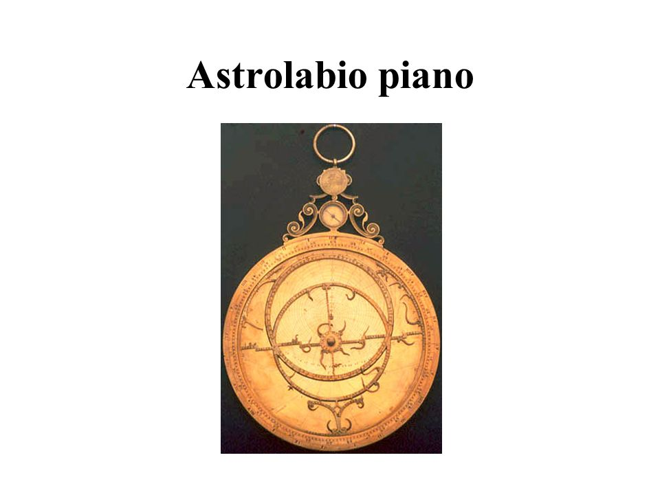 Astrolabio piano
