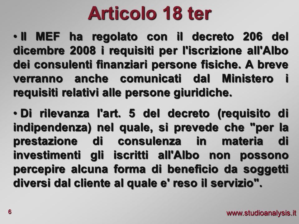Articolo 18 ter