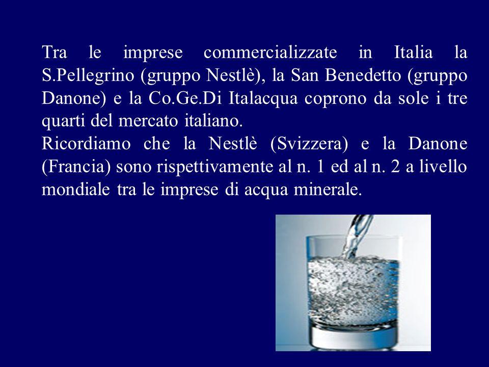 Tra le imprese commercializzate in Italia la S