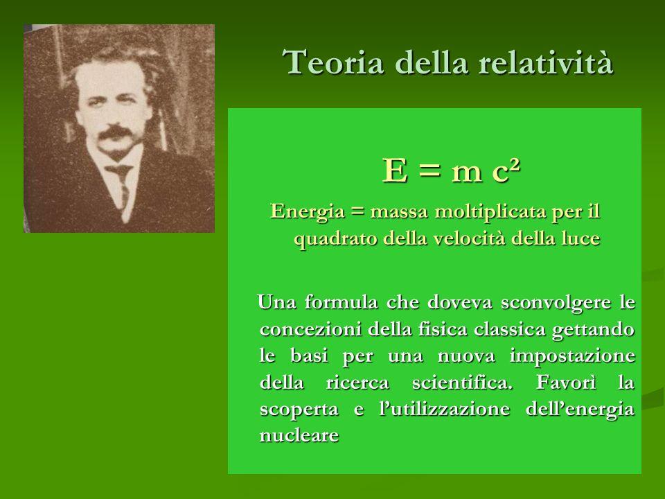 Teoria della relatività