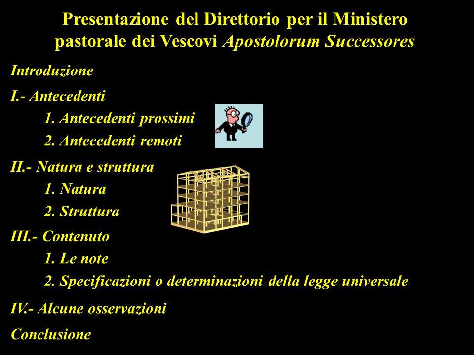 Presentazione del Direttorio per il Ministero pastorale dei Vescovi Apostolorum Successores