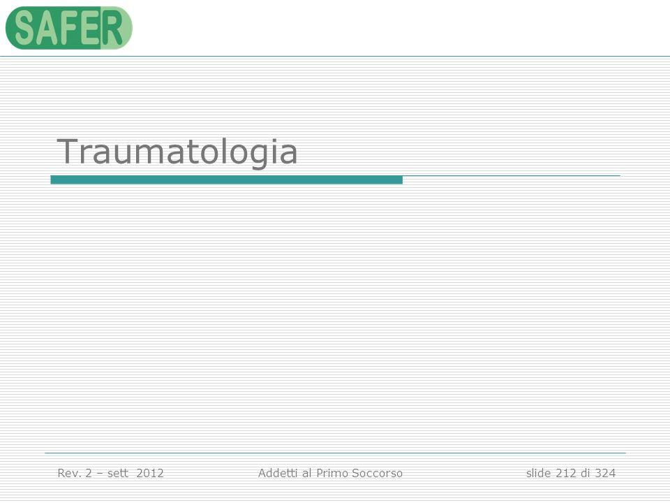 Traumatologia Traumatologia