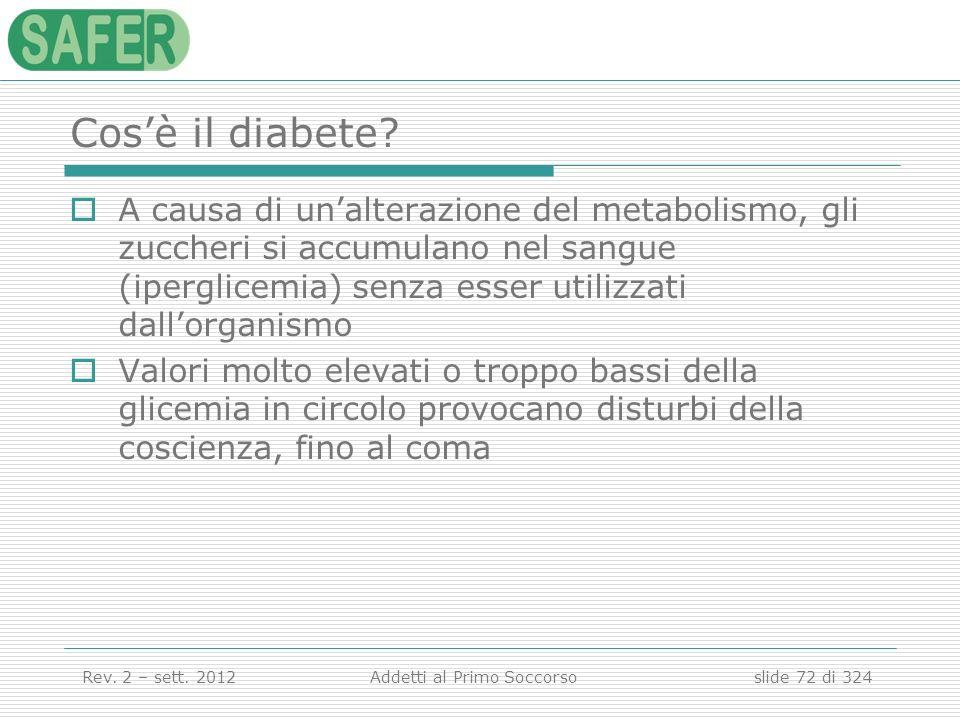 Cos'è il diabete