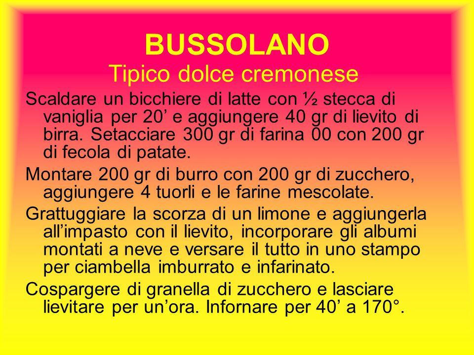 Tipico dolce cremonese