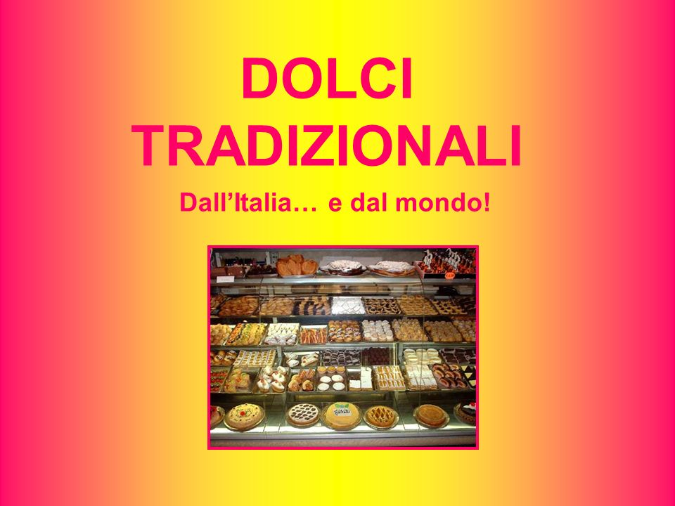 Dall'Italia… e dal mondo!