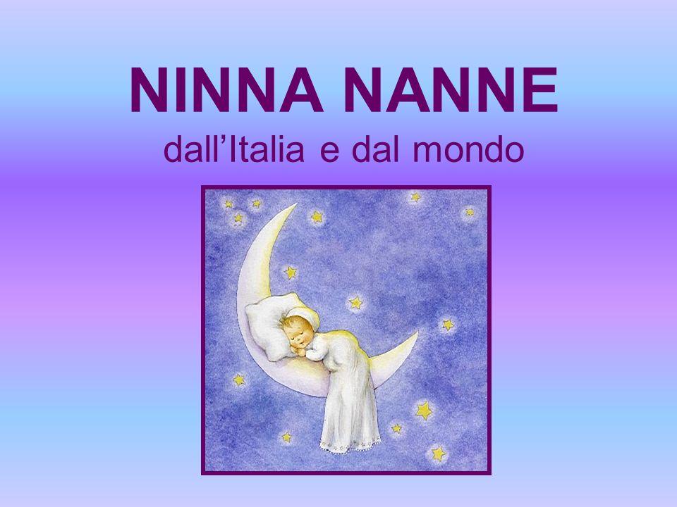 NINNA NANNE dall'Italia e dal mondo