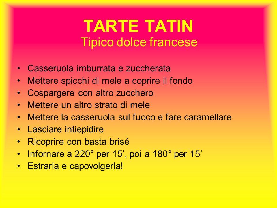 TARTE TATIN Tipico dolce francese Casseruola imburrata e zuccherata