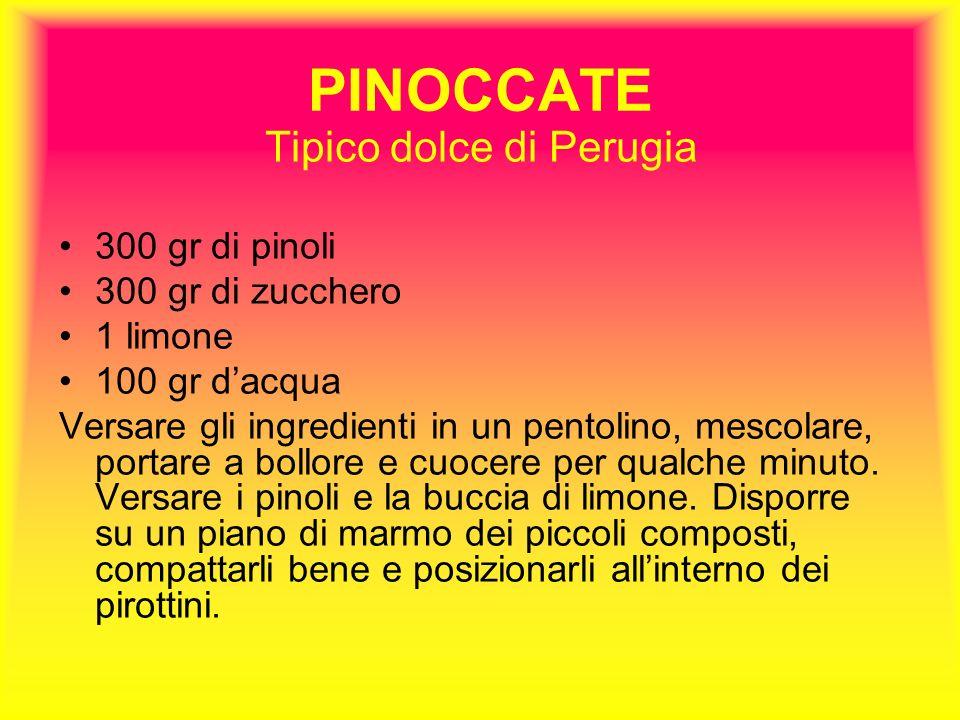 Tipico dolce di Perugia