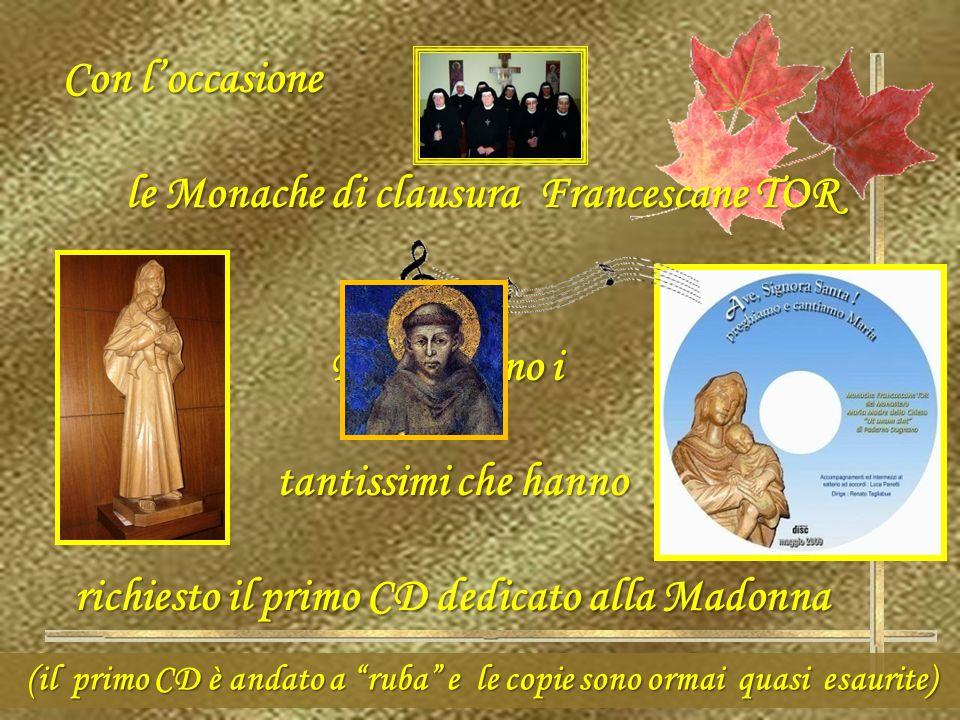 le Monache di clausura Francescane TOR