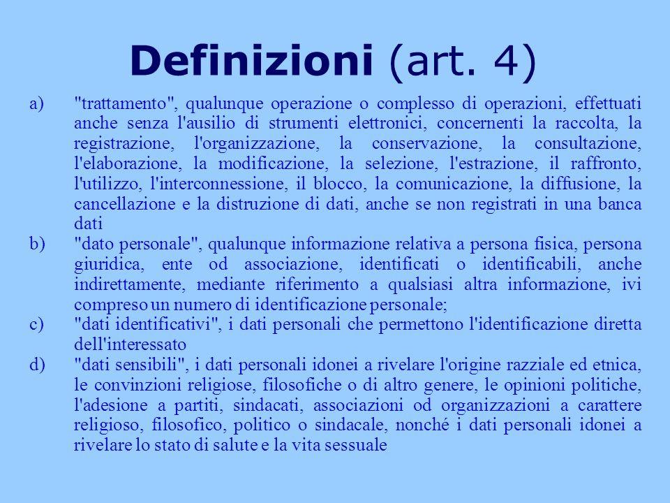 Definizioni (art. 4)