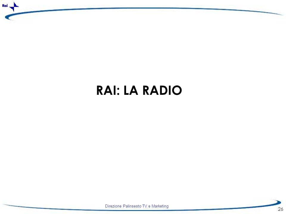 RAI: LA RADIO