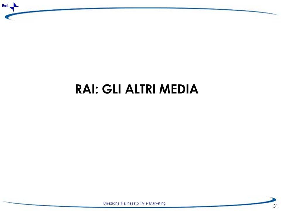 RAI: GLI ALTRI MEDIA