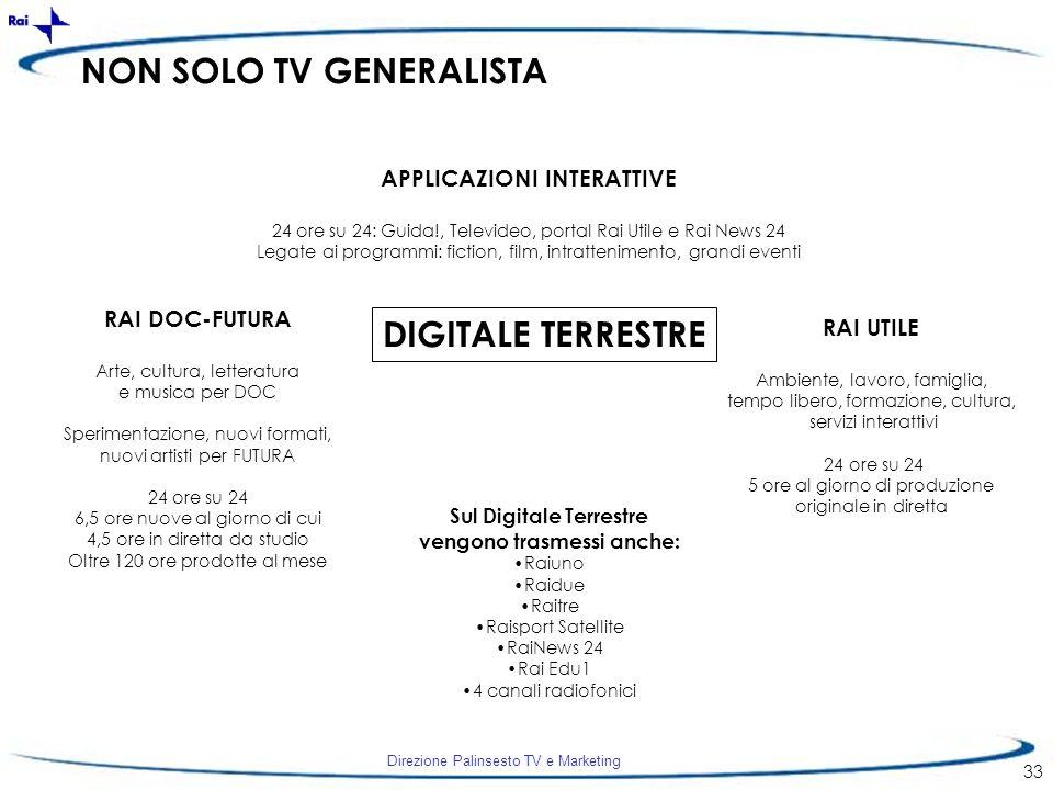 NON SOLO TV GENERALISTA