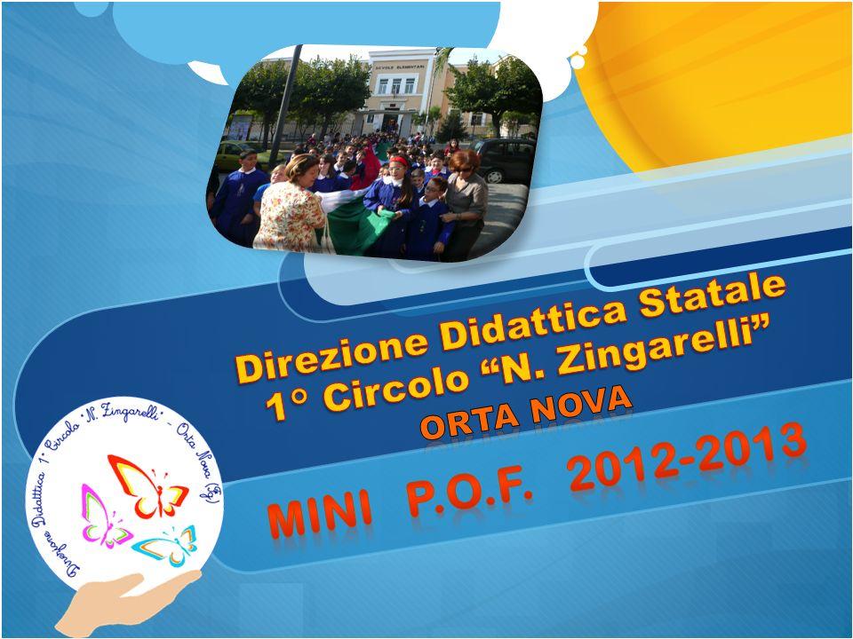 Direzione Didattica Statale 1° Circolo N. Zingarelli Orta Nova