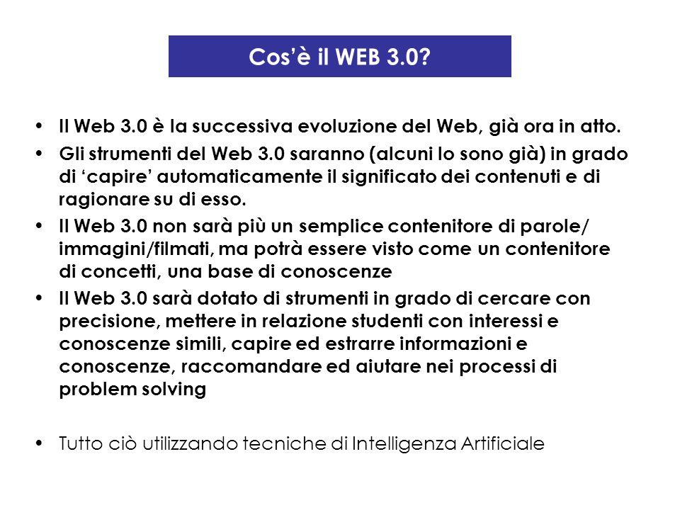 Cos'è il WEB 3.0 Il Web 3.0 è la successiva evoluzione del Web, già ora in atto.