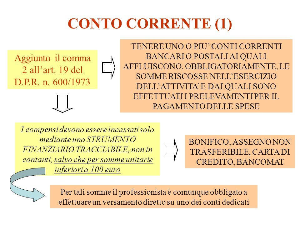 CONTO CORRENTE (1)