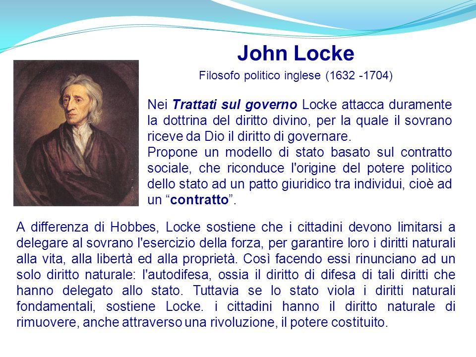 Filosofo politico inglese (1632 -1704)
