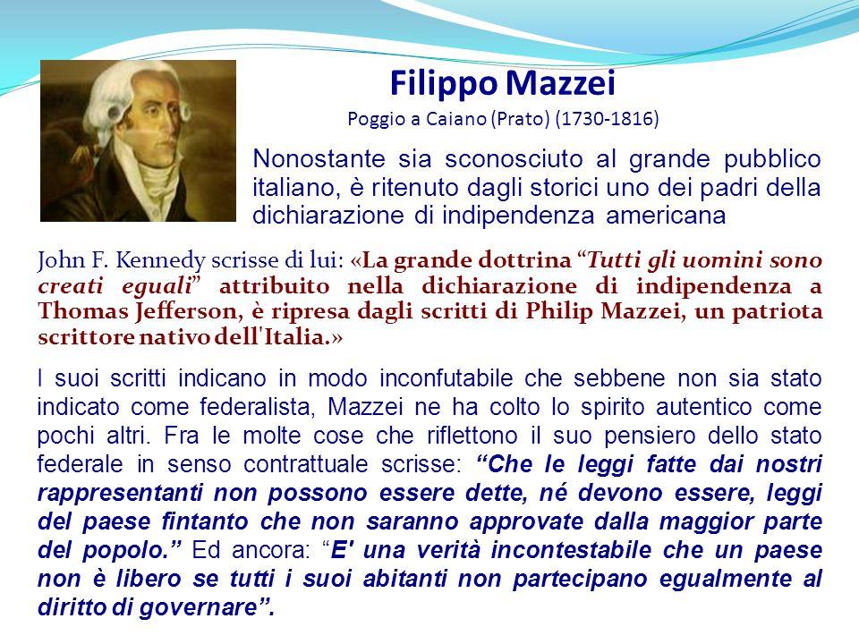 Filippo Mazzei Poggio a Caiano (Prato) (1730-1816)