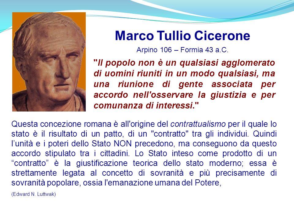 Marco Tullio Cicerone Arpino 106 – Formia 43 a.C.