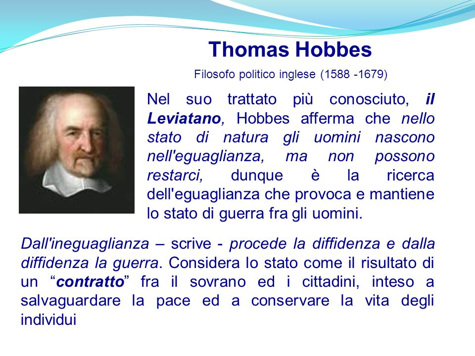 Filosofo politico inglese (1588 -1679)