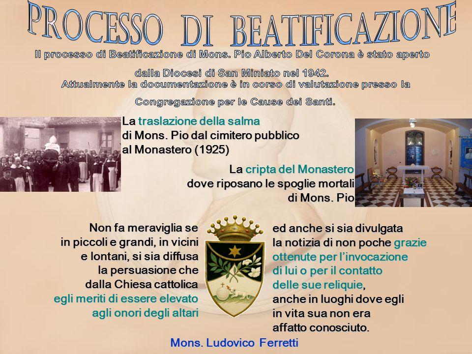 Processo di Beatificazione