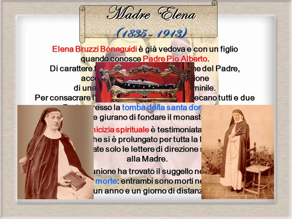 Madre Elena (1835 – 1913)