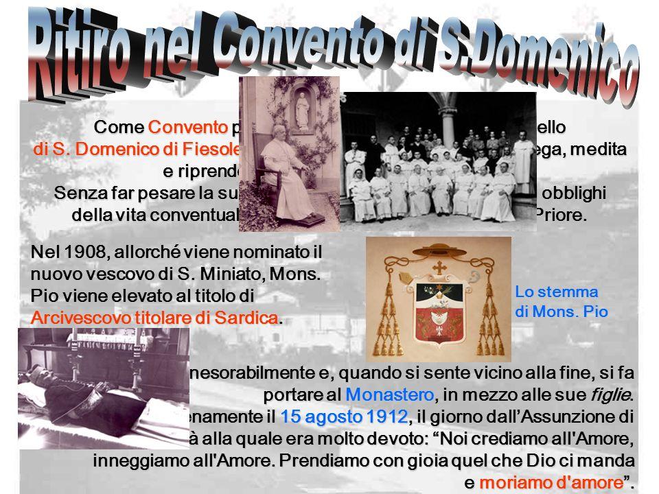 Ritiro nel Convento di S.Domenico