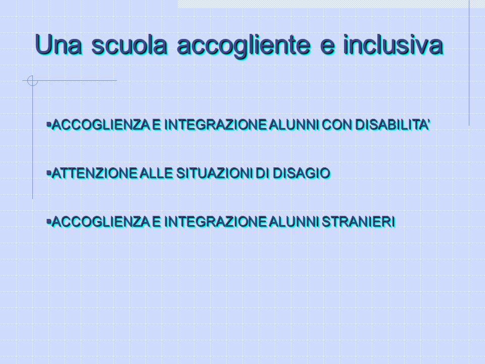 Una scuola accogliente e inclusiva
