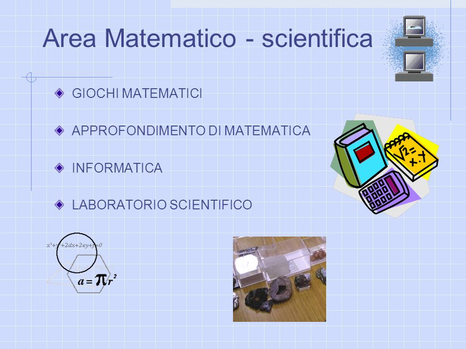 Area Matematico - scientifica