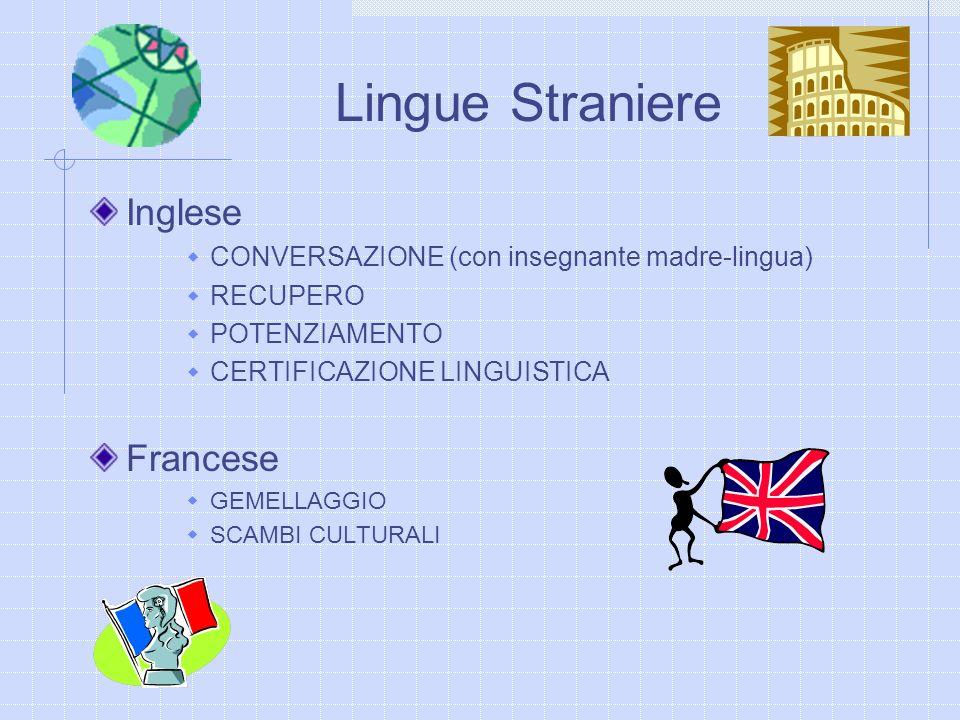 Lingue Straniere Inglese Francese