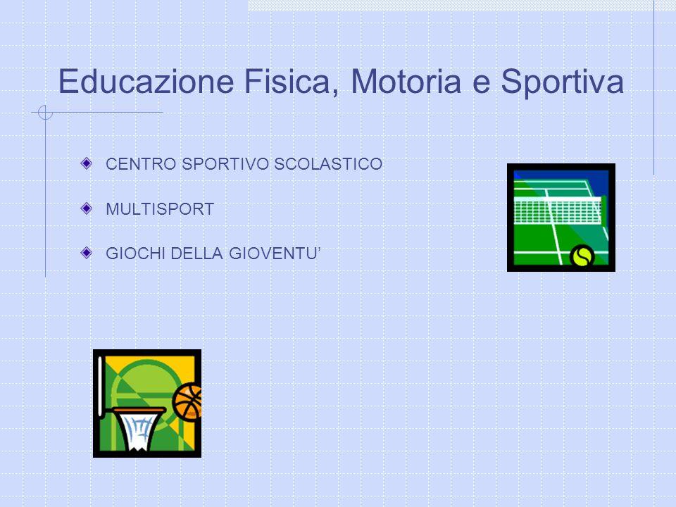 Educazione Fisica, Motoria e Sportiva