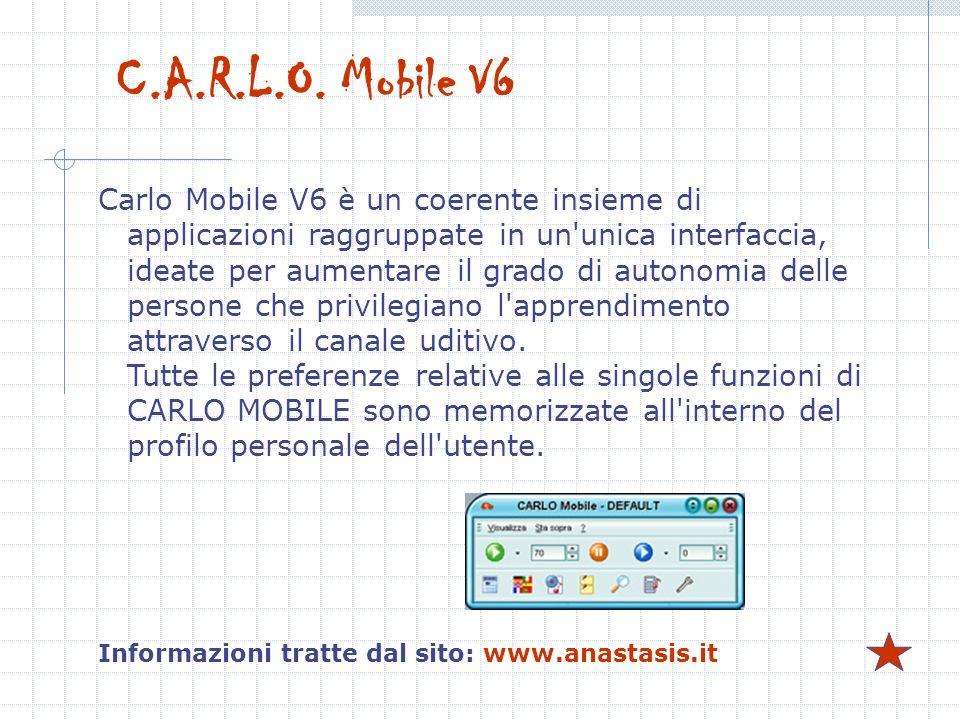 C.A.R.L.O. Mobile V6