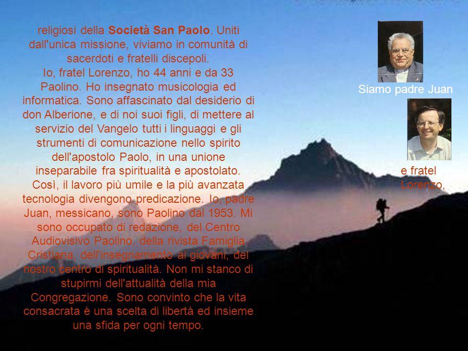 religiosi della Società San Paolo