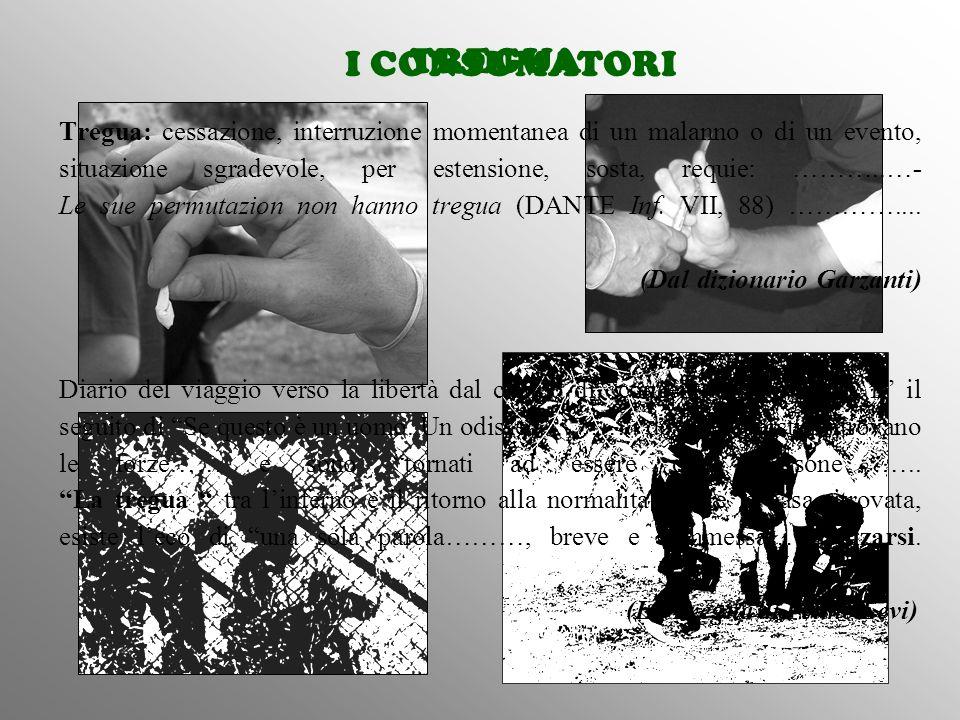 Tregua: cessazione, interruzione momentanea di un malanno o di un evento, situazione sgradevole, per estensione, sosta, requie: ………..…- Le sue permutazion non hanno tregua (DANTE Inf. VII, 88) ………….... (Dal dizionario Garzanti) Diario del viaggio verso la libertà dal campo di concentramento ….… E' il seguito di Se questo è un uomo. Un odissea ……….. dove i superstiti ritrovano le forze…… e sono tornati ad essere delle persone …….. La tregua tra l'inferno e il ritorno alla normalità , oltre la casa ritrovata, esiste l'eco di una sola parola………, breve e sommessa…… alzarsi. (La Tregua di Primo Levi)